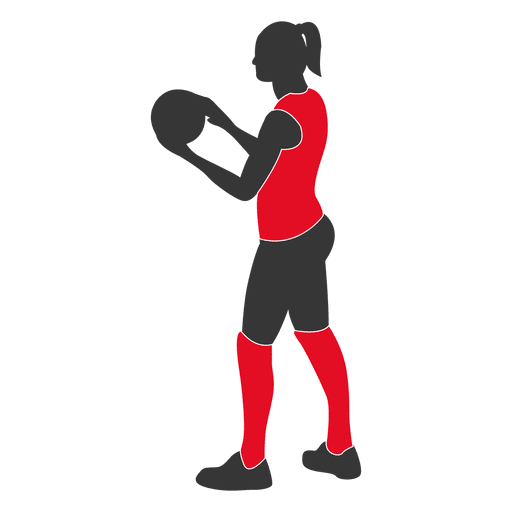Female volleyball player 1