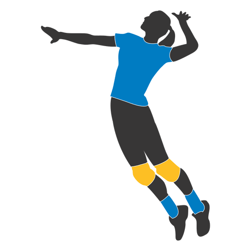 Jogador de voleibol feminino 2