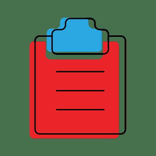 icono de archivo de lista de verificación Transparent PNG
