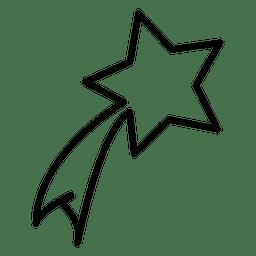 Icono de estrella de fuego