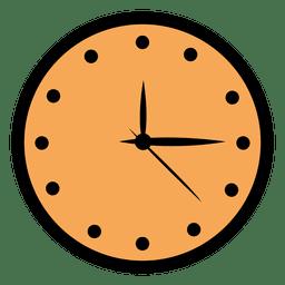 Reloj de pared plano