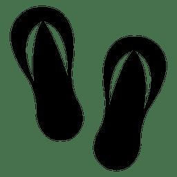 Icono de chanclas