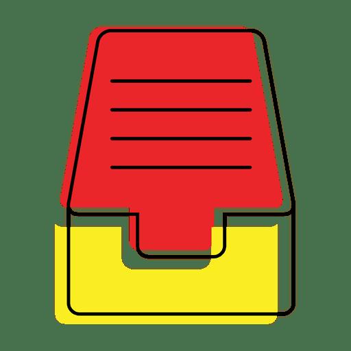 Ícone de arquivos de pasta colorida Transparent PNG