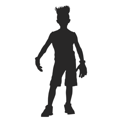 Frankenstain children costume silhouette