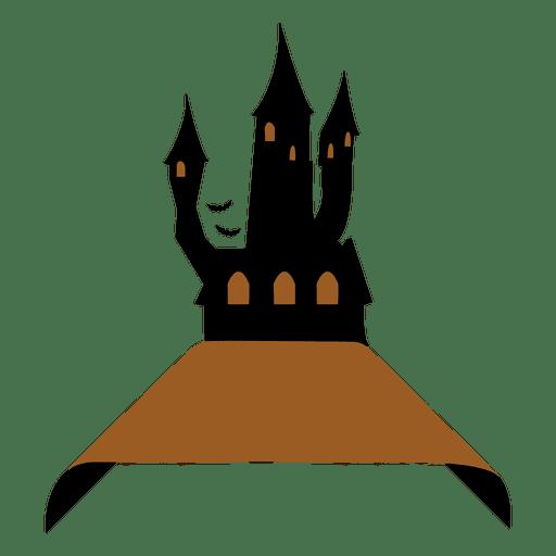 Etiqueta del castillo de Frankenstein