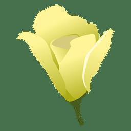 Dibujos animados de flores de gardenia