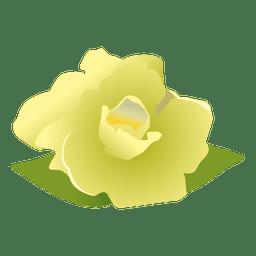 Dibujos animados de flores de gardenia 3