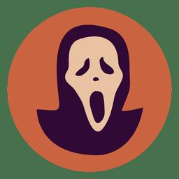 Icono de circulo fantasma