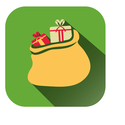 Square Gift Bag Icon