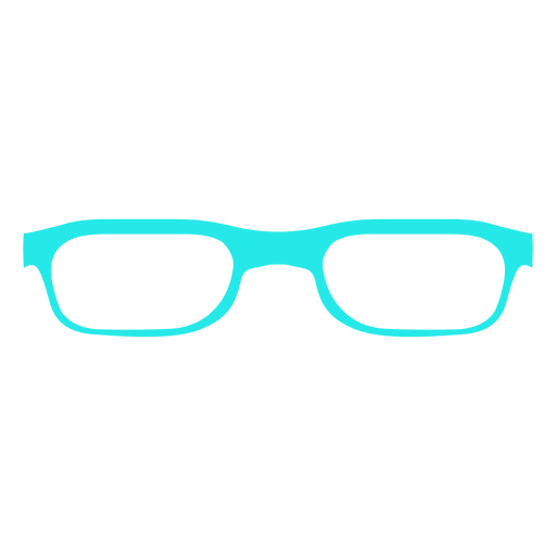 Blue glasses woman fashion png