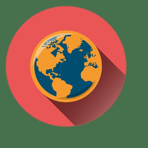 Globe circle icon png