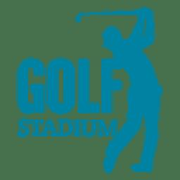 Logo de golf sport