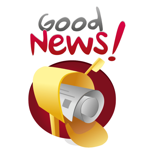 Good news mailing logo Transparent PNG
