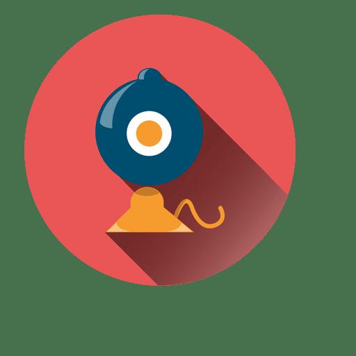 Ícone de círculo de gramofone Transparent PNG