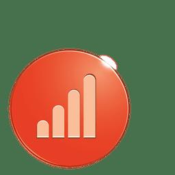 Graph bubble icon