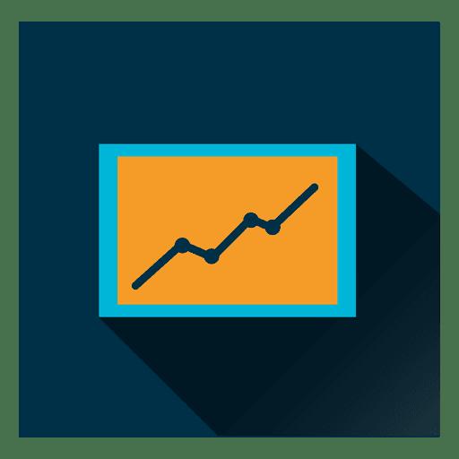 Ícone quadrado gráfico Transparent PNG