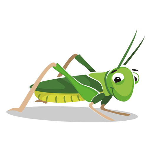 Grasshopper cartoon - Transparent PNG & SVG vector