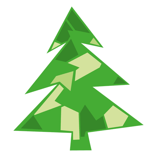 Green Christmas Tree Icon Png