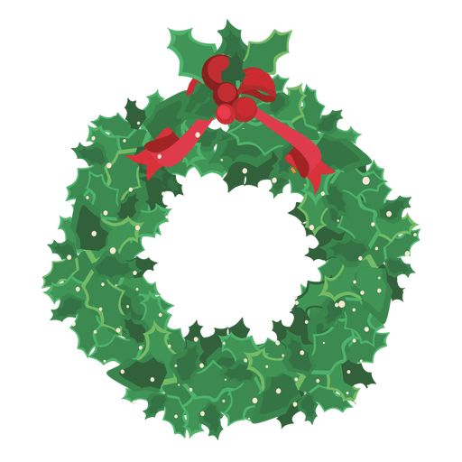 Christmas Wreath Png.Green Christmas Wreath Transparent Png Svg Vector