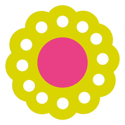 Green flower icon 5 Transparent PNG
