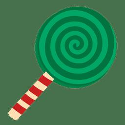 Doce de hortelã-pimenta verde