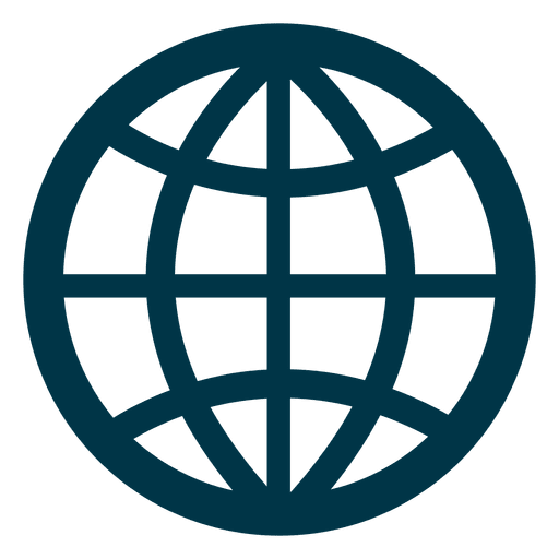 Grid earth icon Transparent PNG