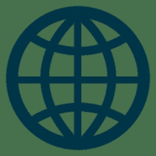 Raster-Erde-Symbol Transparent PNG