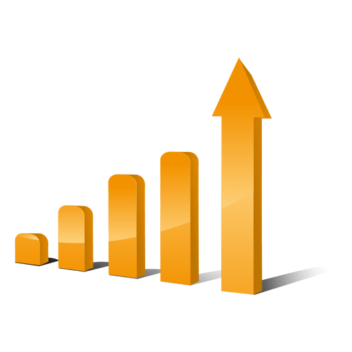 Growing bar graphs Transparent PNG
