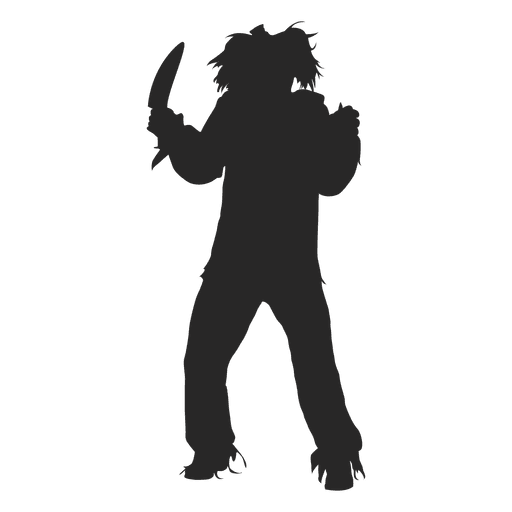 Halloween boy costume silhouette Transparent PNG