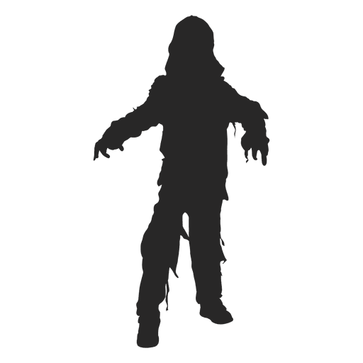 Halloween ghost costume silhouette Transparent PNG