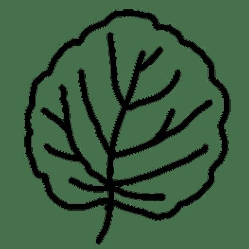 Hojas dibujadas a mano - Descargar PNG/SVG transparente