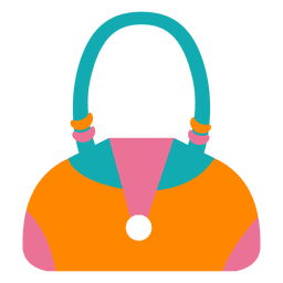 Handbag woman fashion colorful