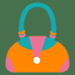 Moda de mulher de bolsa colorida