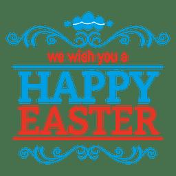 insignia Pascua feliz 1