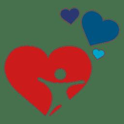 Logotipo de cuidados de saúde