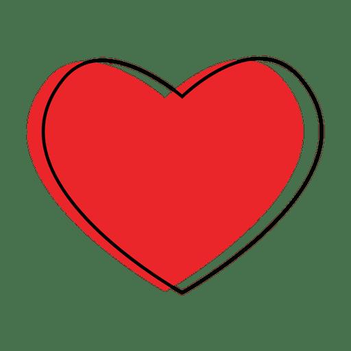 Coração como ícone Transparent PNG