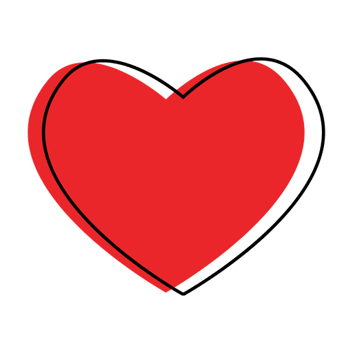 Corazón como icono Transparent PNG