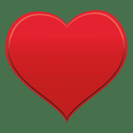 Símbolo de coração Transparent PNG