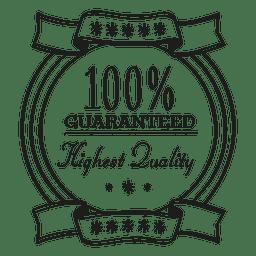 Highest quality emblem