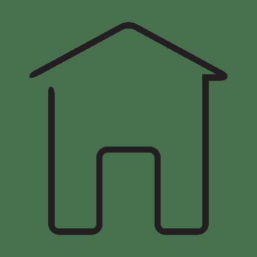 Icono de la casa Transparent PNG