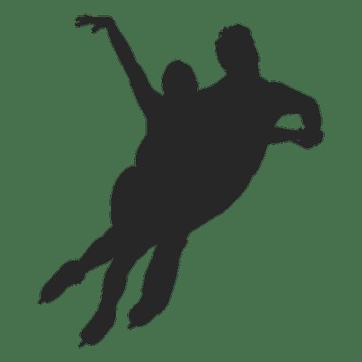 Casal de dança de patinação no gelo Transparent PNG