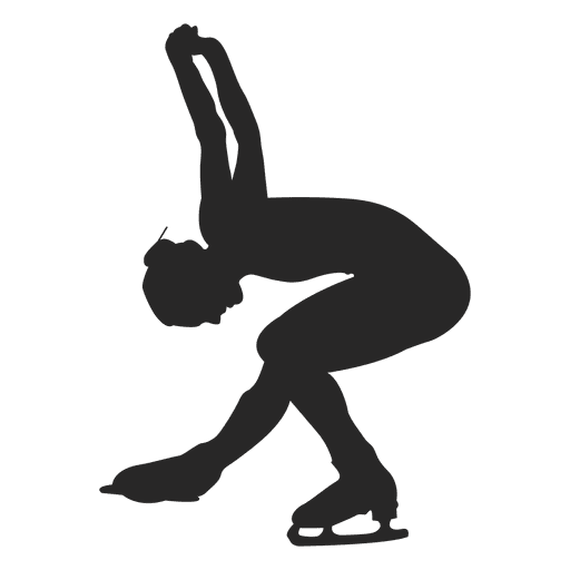 Ice skating female dance Transparent PNG