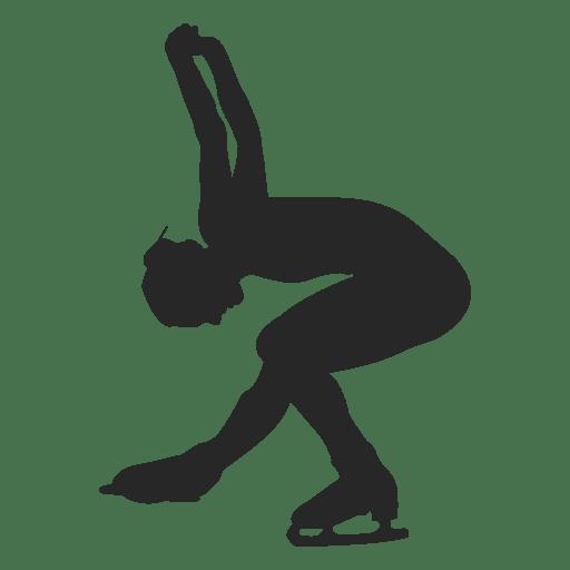Patinação no gelo de dança feminina Transparent PNG