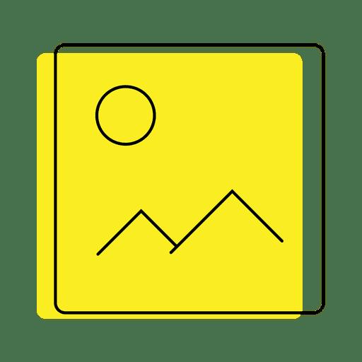 Icono de foto de la imagen Transparent PNG
