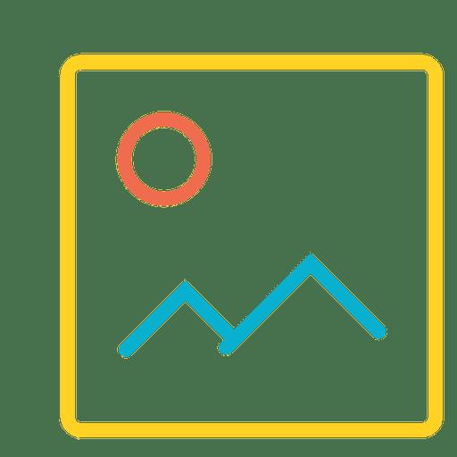 Icono de imagen Transparent PNG