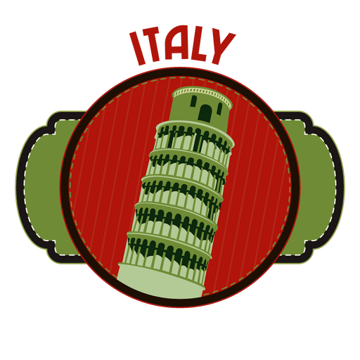 Italy landmark emblem Transparent PNG
