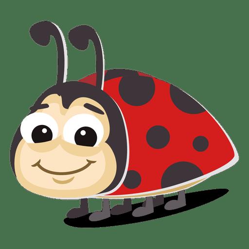 Ladybug cartoon Transparent PNG