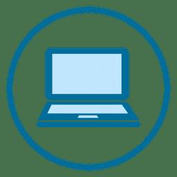 Laptop-Ring-Symbol