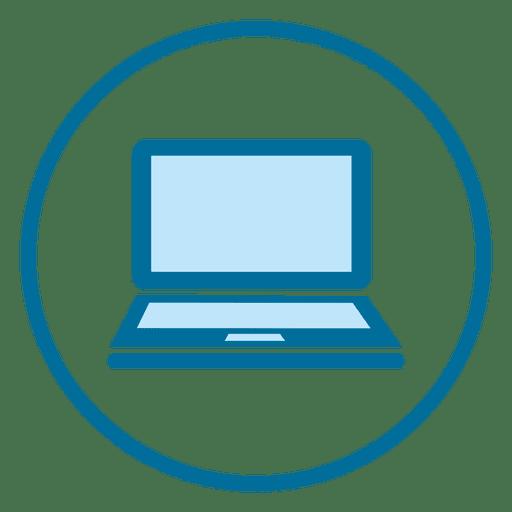 Laptop ring icon