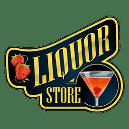 logotipo da loja de bebidas